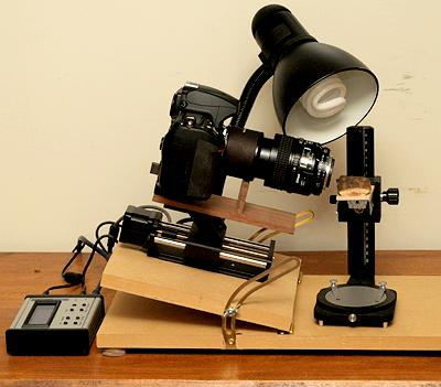 focus stacking system