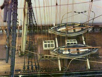 An Early Model Of The Cutty Sark